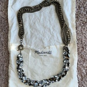 Faux Multi  Diamond Necklace